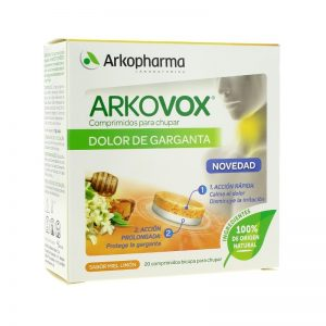 Arkopharma Arkovox Keelpijn Zuigtabletten 20st