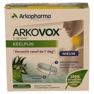 Arkopharma Arkovox Keelpijn Zuigtabletten