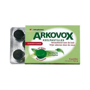 Arkovox Menthol & Eucalyptus Pastilles 8st