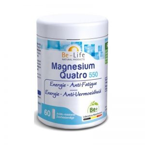 Be-Life Magnesium Quatro 550 Capsules