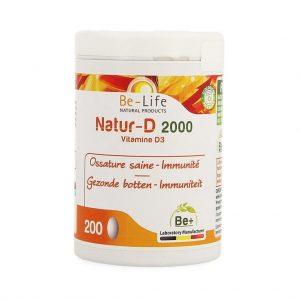 Be-Life Natur-D 2000 Capsules