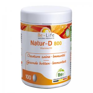 Be-Life Natur-D 800 Capsules