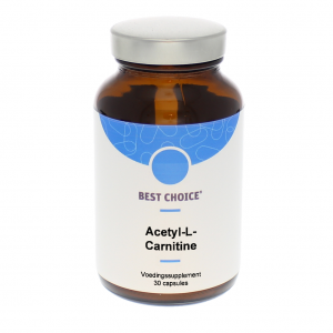 Best Choice Acetyl-L-Carnitine Capsules 30st