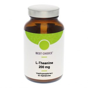 Best Choice L-Theanine 200mg Capsules 60st