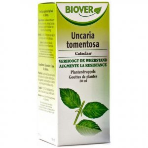 Biover Uncaria Tomentosa Druppels 50ml