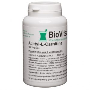 Biovitaal Acetyl L Carnitine 500 mg Capsules 100 st
