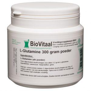 Biovitaal L Glutamine 300gr Poeder