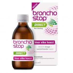 Bronchostop Direct met Honing Hoestdrank