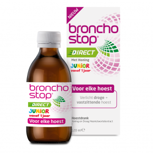Bronchostop Direct met Honing Junior Hoestdrank