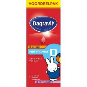 Dagravit Kids Vitamine D Aquosum Voordeelpak