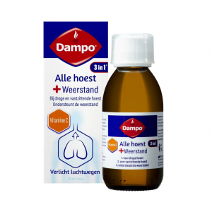 Dampo 3-in-1 Alle Hoest + Weerstand Siroop