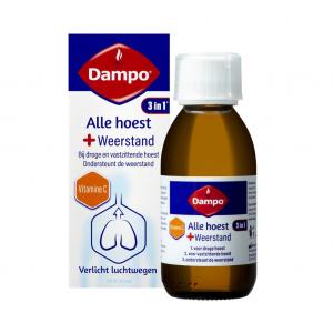 Dampo 3-in-1 Alle Hoest + Weerstand Siroop