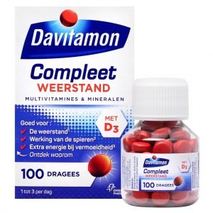 Davitamon Compleet Dragees 100st