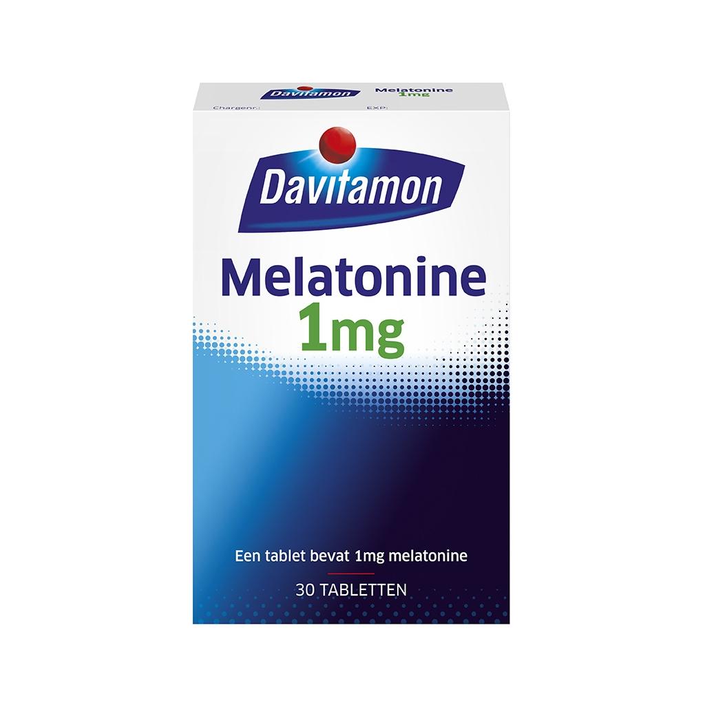 Davitamon Melatonine 1mg Tabletten