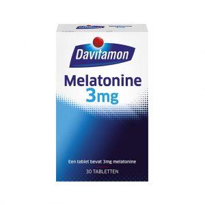 Davitamon Melatonine 3mg Tabletten
