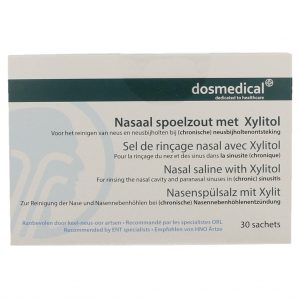 Dos Medical Nasaal Spoelzout met Xylitol Sachets