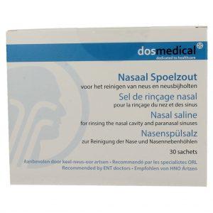 Dos Medical Nasaal Spoelzout Sachets