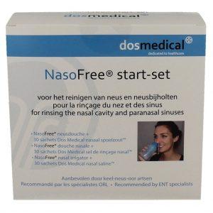 Dos Medical NasoFree Spoelzout Startset