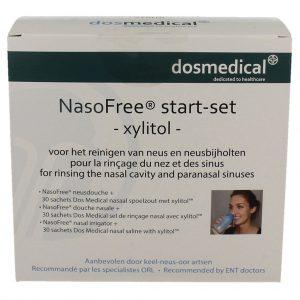 Dos Medical NasoFree Spoelzout Xylitol Startset