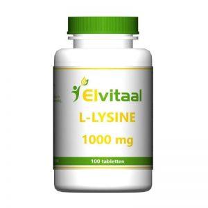 Elvitaal L-Lysine 1000mg Tabletten