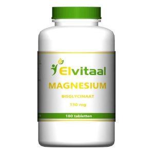 Elvitaal Magnesium Bisglycinaat 130mg Tabletten