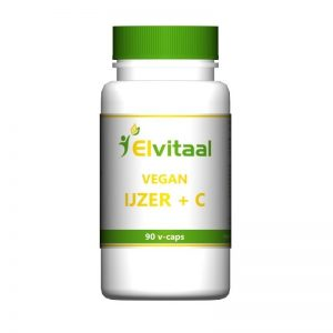 Elvitaal Vegan IJzer + C Capsules