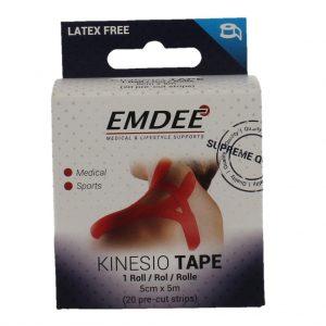 Emdee Kinesio Tape Red