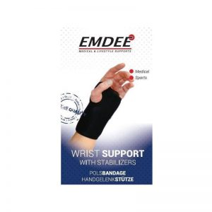 Emdee Pols Support Links Zwart