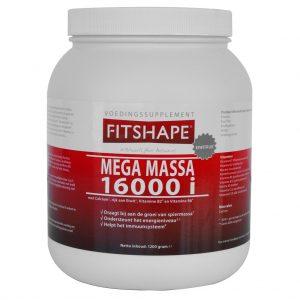 Fitshape Mega Massa 16000i Banaan