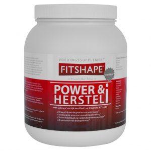 Fitshape Power & Herstel i Vanille