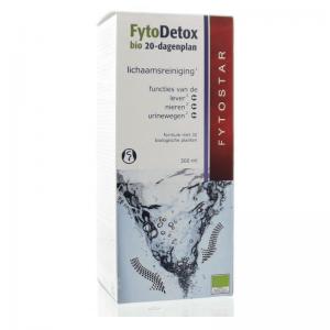 Fytostar FytoDetox Bio 20 Dagenplan Siroop