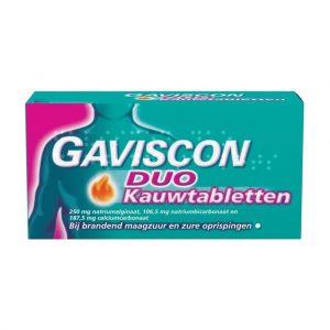 Gaviscon Duo Kauwtabletten
