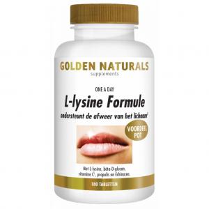 Golden Naturals L-Lysine Formule Tabletten