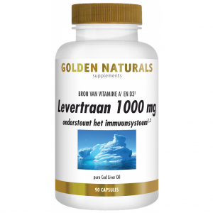 Golden Naturals Levertraan Capsules