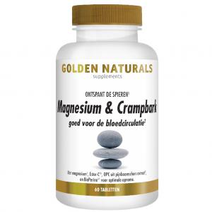 Golden Naturals Magnesium & Crampbark Tabletten