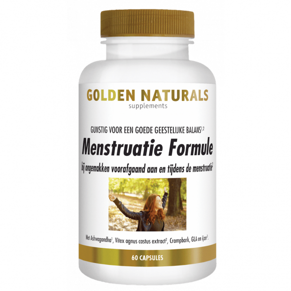 Golden Naturals Menstruatie Formule Capsules