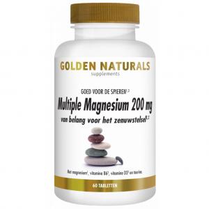 Golden Naturals Multiple Magnesium 200mg Tabletten
