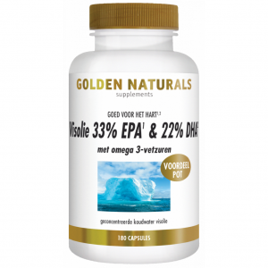 Golden Naturals Visolie 33% EPA & 22% DHA Capsules