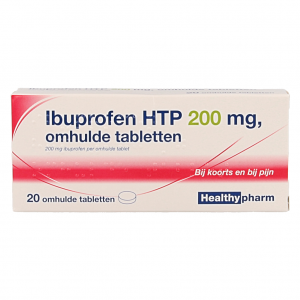 Healthypharm Ibuprofen 200mg Tabletten