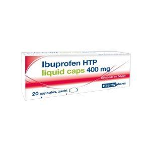 Healthypharm Ibuprofen 400mg Liquid Capsules 20st