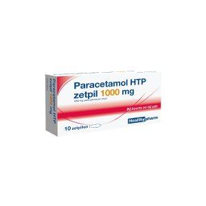 Healthypharm Paracetamol 1000mg Zetpillen 10st