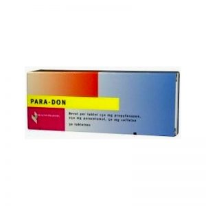 Healthypharm Paradon Tabletten 20st