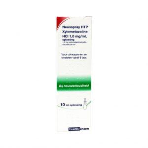Healthypharm Xylometazoline Neusspray 1.0mg/ml