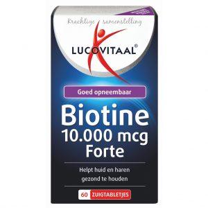 Lucovitaal Biotine 10.000 mcg Forte Zuigtabletten