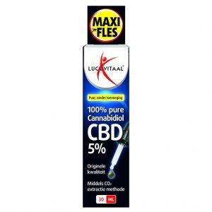 Lucovitaal Cannabidiol CBD Olie 5%