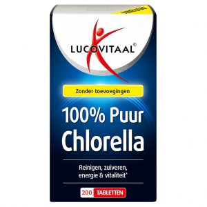 Lucovitaal Chlorella 100% Puur Tabletten