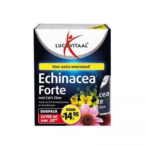 Lucovitaal Echinacea Forte met Cat's Claw Duopack