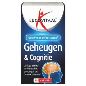 Lucovitaal Geheugen & Cognitie Capsules