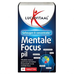 Lucovitaal Mentale Focus Pil Tabletten