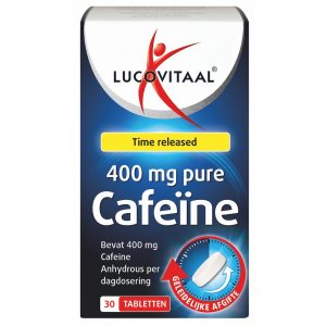 Lucovitaal Pure Cafeïne 400 mg Tabletten